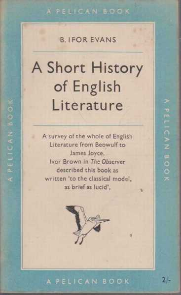 Image for A Short History Of English Literature