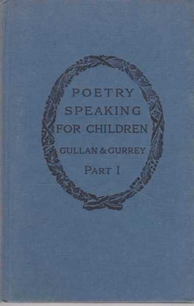 Image for Poetry Speaking for Children Part 1 The Beginnings