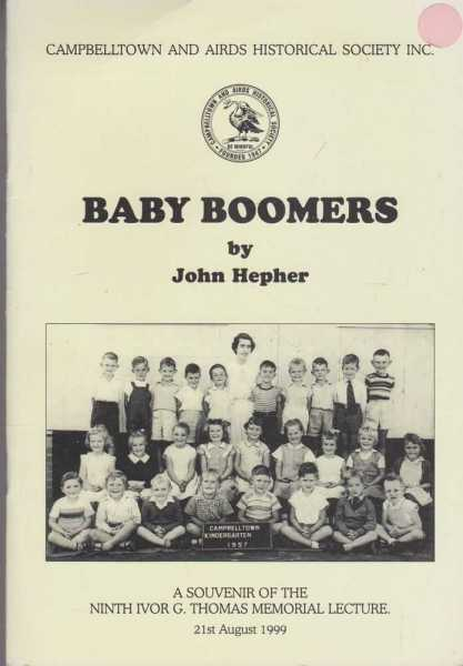 Image for Baby Boomers - a Souvenir of the Ninth Ivor G. Thomas Memorial Lecture