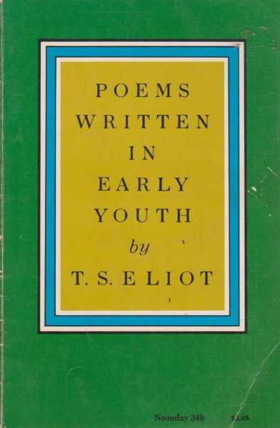 Image for Poems Written In Early Youth