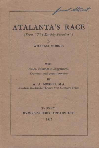 Image for Atalanta's Race [From 'The Earthly Paradise']