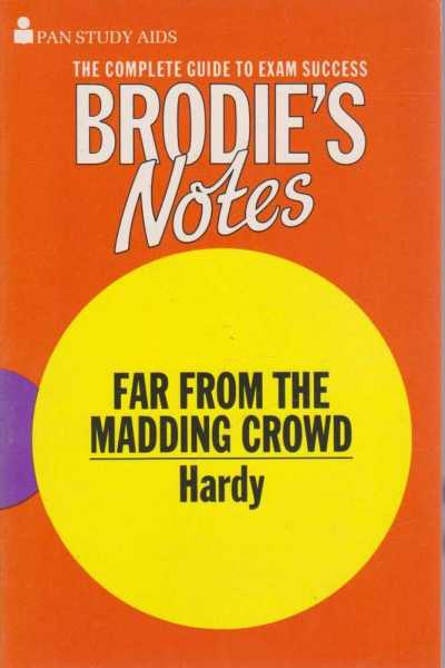 Image for Brodie's Notes on Far From the Madding Crowd