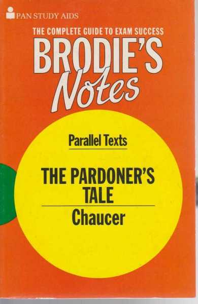 Image for Brodie's Notes on Chaucer's The Pardoner's Tale