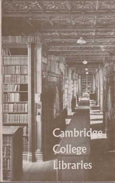 Image for Cambridge College Libraries: Aids for Research Students