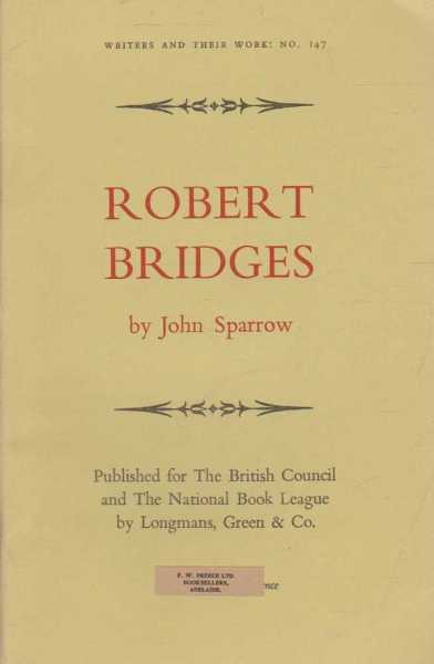 Image for Robert Bridges [Writers and Their Work No. 147]