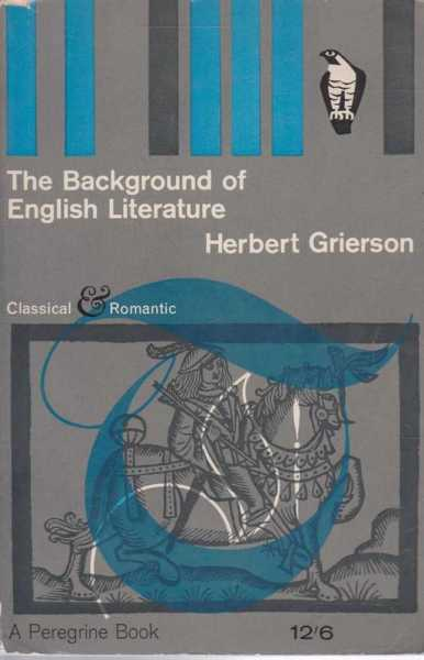 Image for The Background Of English Literature and Other Essays