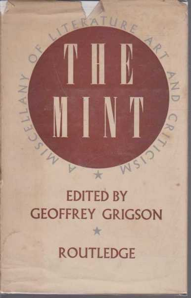 Image for The Mint - a Miscellany of Literature Art and Criticism