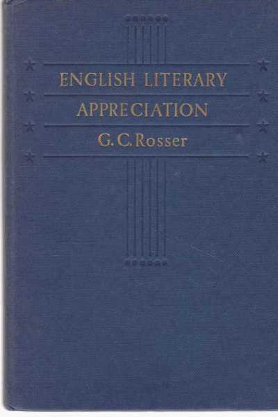 Image for English Literary Appreciation