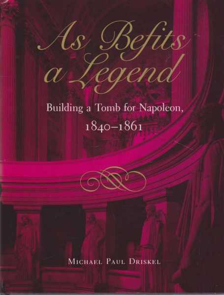 Image for As Befits A Legend - Building 1840-1861