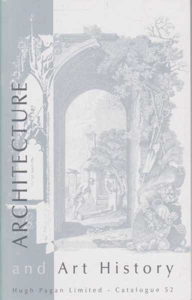 Image for Architecture and Art History Catalogue 52