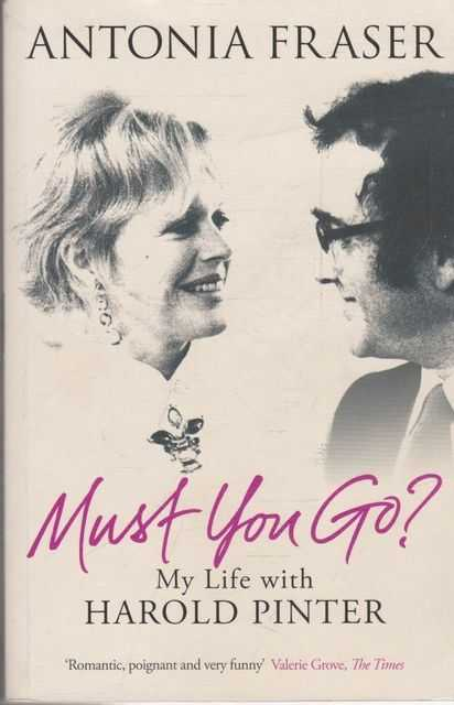 Image for Must You Go? my Life With Harold Pinter