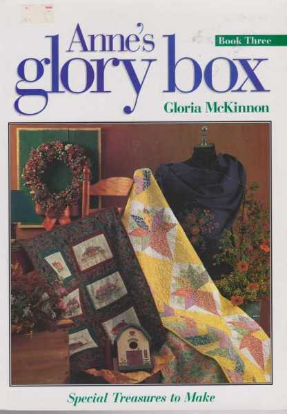 Image for Anne's Glory Box Book One - Special Treasures To Make