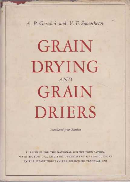 Image for Grain Drying and Grain Driers