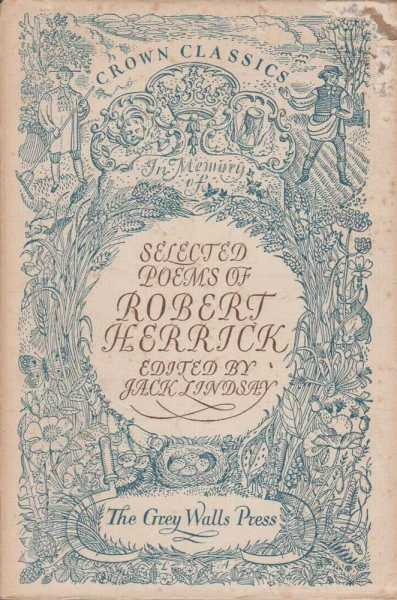 Image for Selected Poems of Robert Herrick