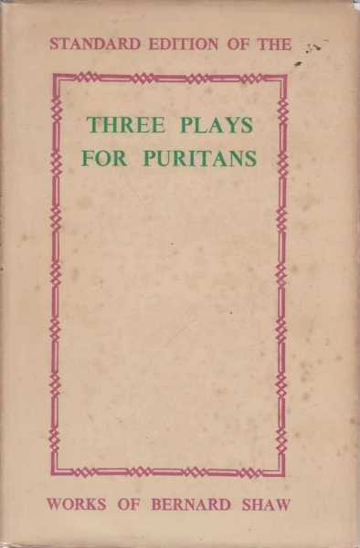 Image for Three Plays For Puritans