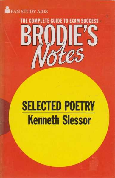 Image for Selected Poetry - Kenneth Slessor