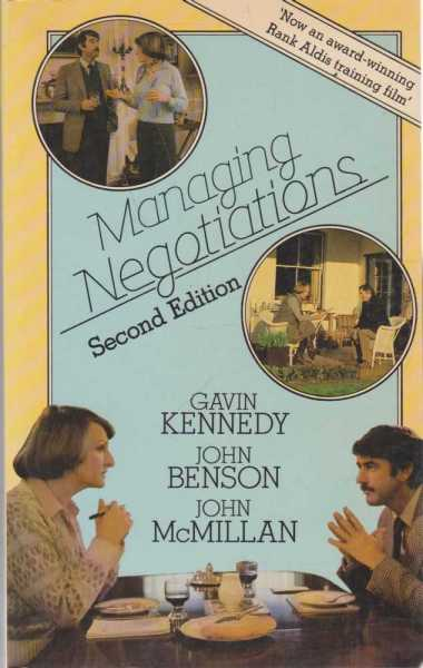 Image for Managing Negotiations - Second Edition
