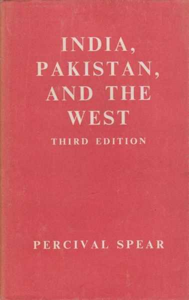 Image for India, Pakistan and The West