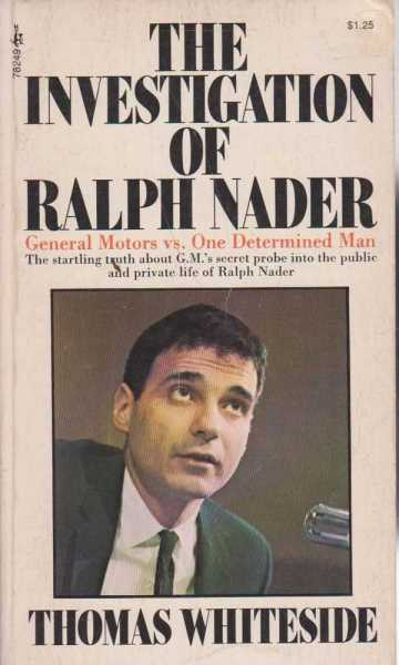 Image for The Investigation of Ralph Nader