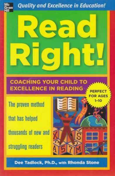 Image for Read Right! - Coaching Your Child to Excellence in Reading