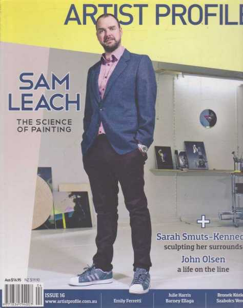 Image for Artist Profile - Sam Leach