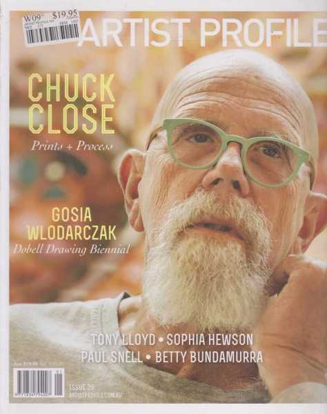 Image for Artist Profile - Chuck Close
