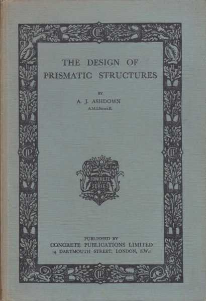 Image for The Design of Prismatic Structures