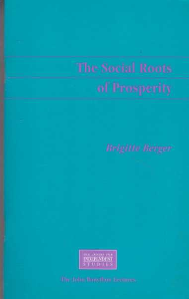 Image for The Social Roots of Prosperity - The Twelfth Annual John Bonython Lecture [Ana Hotel Sydney]