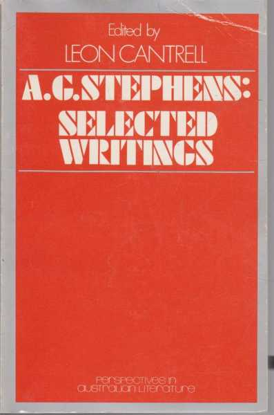 Image for A.G. Stephens: Selected Writings
