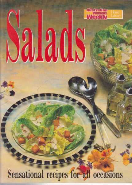 Image for The Australian Women's Weekly Cookbooks - Salads