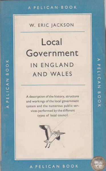 Image for Local Government in England and Wales