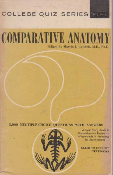 Image for Comparative Anatomy - 2000 Multiple Choice Questions with Answers