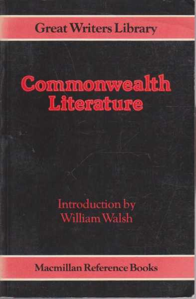 Image for Commonwealth Literature - Great Writers Library