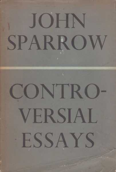 Image for Controversial Essays