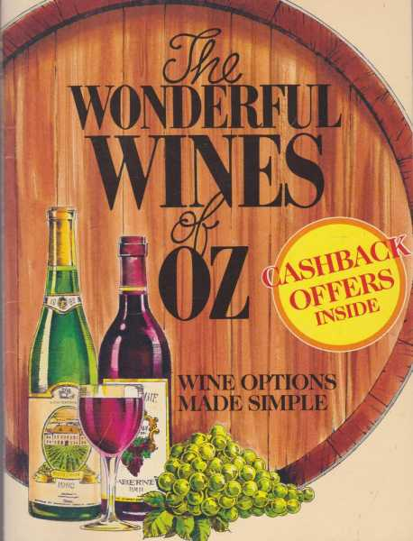 Image for The Wonderful Wines of Oz - Wine Options Made Simple