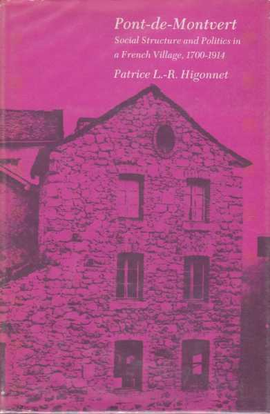 Image for Pont-de-Montvert - Social Structure and Politics in A French Village 1700-1914