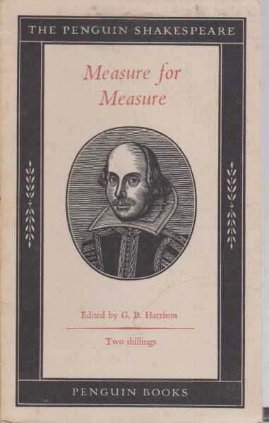 Image for Measure for Measure [The Penguin Shakespeare]