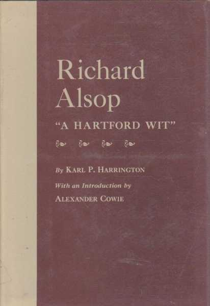 Image for Richard Alsop - A Hartford Wit