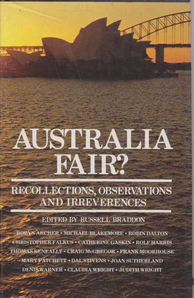 Image for Australia Fair? Recollections, Observations and Irreverences