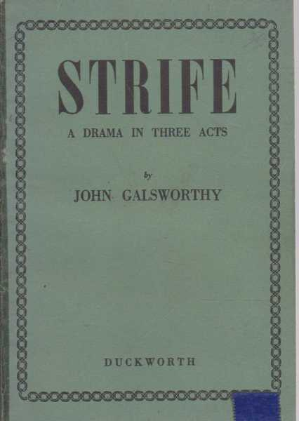 Image for Strife - A Drama In Three Acts