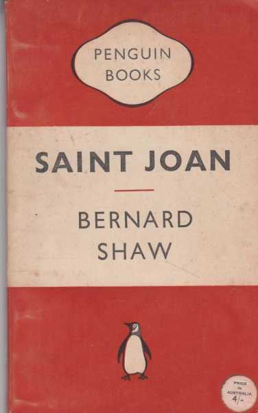 Image for Saint Joan - A Chronicle Play in Six SCenes and An Epilogue