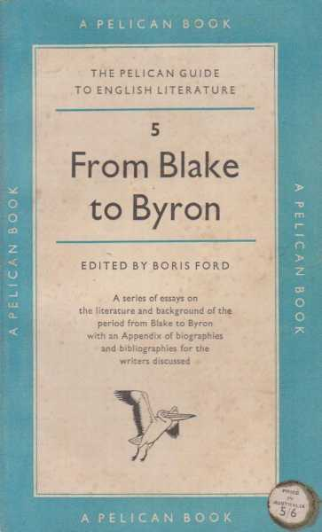 Image for From Blake To Byron - 5