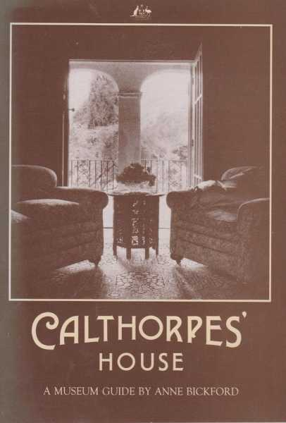 Image for Calthorpe's House - A Museum Guide [Department of Territories]