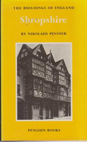 Image for Shropshire [The Buildings of England]