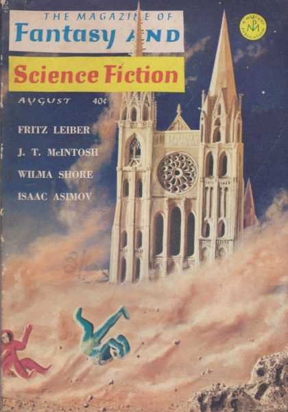 Image for The Magazine of Fantasy and Science Fiction Volume 27, No. 2 Whole No. 159 August 1964