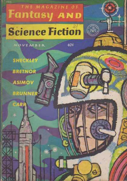 Image for The Magazine of Fantasy and Science Fiction Volume 23, No. 5 Whole No. 138 Nov 1962