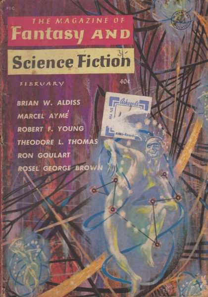 Image for The Magazine of Fantasy and Science Fiction Volume 20, No. 2 Whole No. 117 Feb 1961
