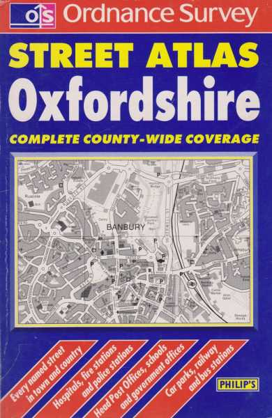 Image for Ordnance Survey Street Atlas Oxfordshire - Complete County - Wide Coverage [Pocket Edition]