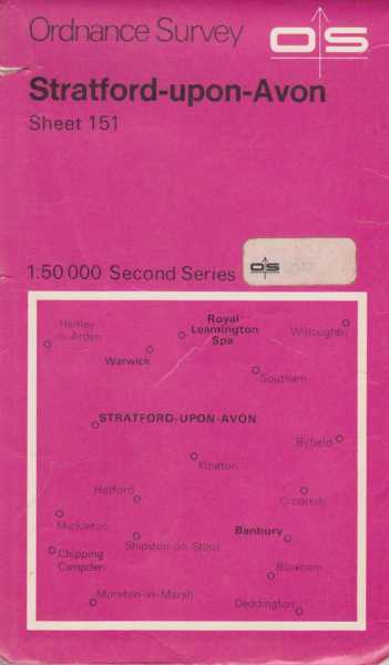 Image for Ordnance Survey: Stratford-Upon-Avon Sheet 151[1:50 000 Second Series]