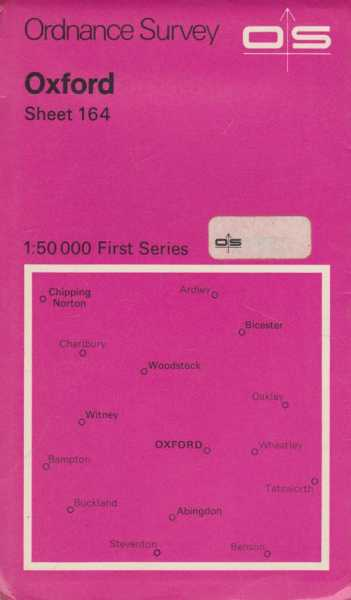 Image for Ordnance Survey: Oxford 164 [1:50 000 First Series]